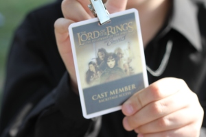 Cast member credential.