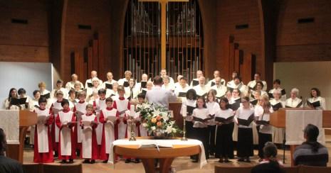 Boys Choir and Chancel Choir