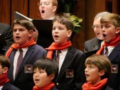 boys choir candid